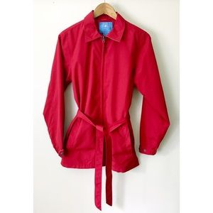 Charles River Jacket Size Small Red Lightweight